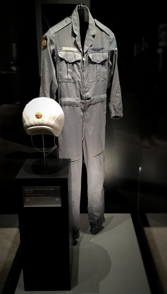 Costumes from 2001: A Space Odyssey at Stanley Kubrick: The Exhibition