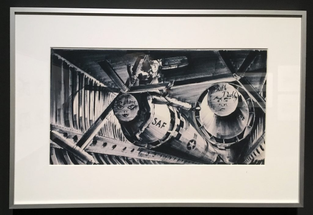 Concept art for Dr Strangelove from Stanley Kubrick: The Exhibition