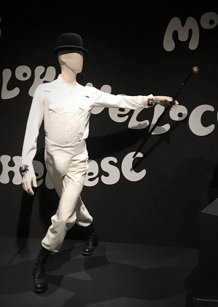 Droog Costume from A Clockwork Orange at Stanley Kubrick: The Exhibition