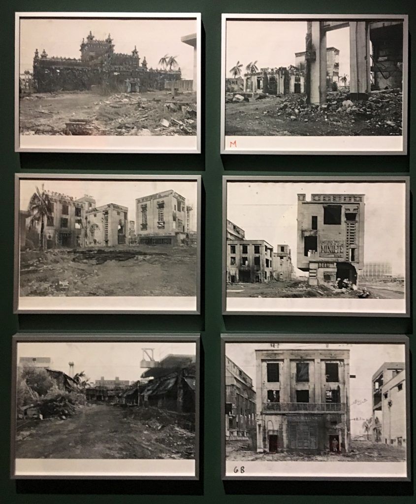 A Vietnamese warzone recreated in Beckton Gasworks from Stanley Kubrick: The Exhibition