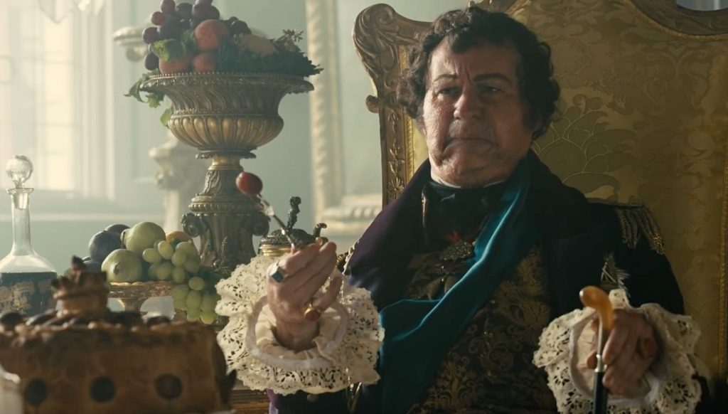 Mark Gatiss as George IV
