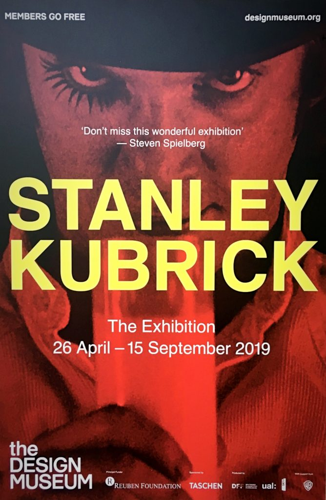 Stanley Kubrick: The Exhibition (Design Museum, London poster)
