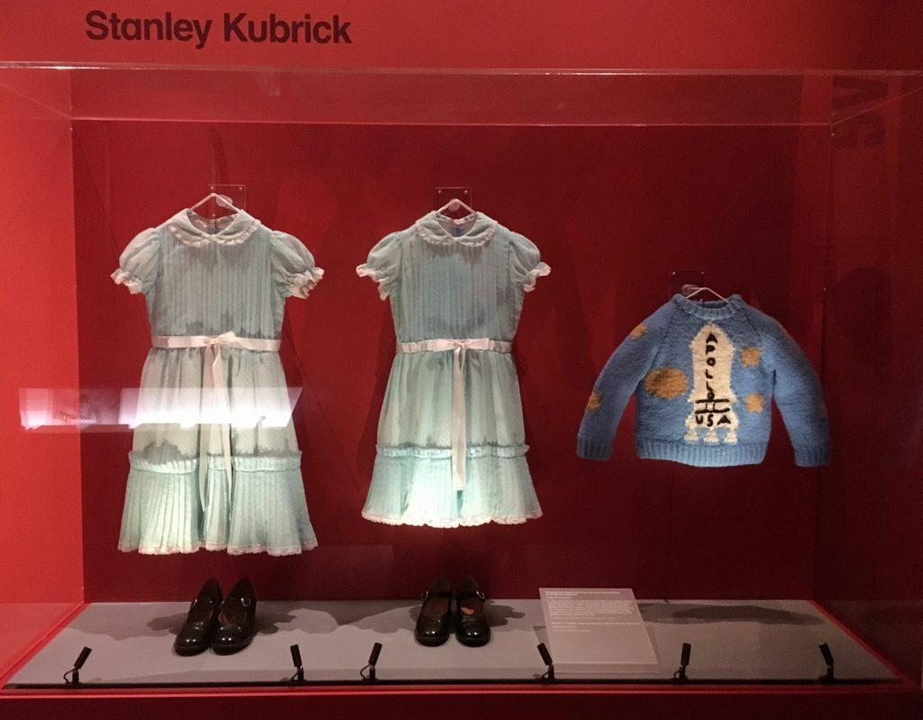 Costumes from The Shining at Stanley Kubrick: The Exhibition
