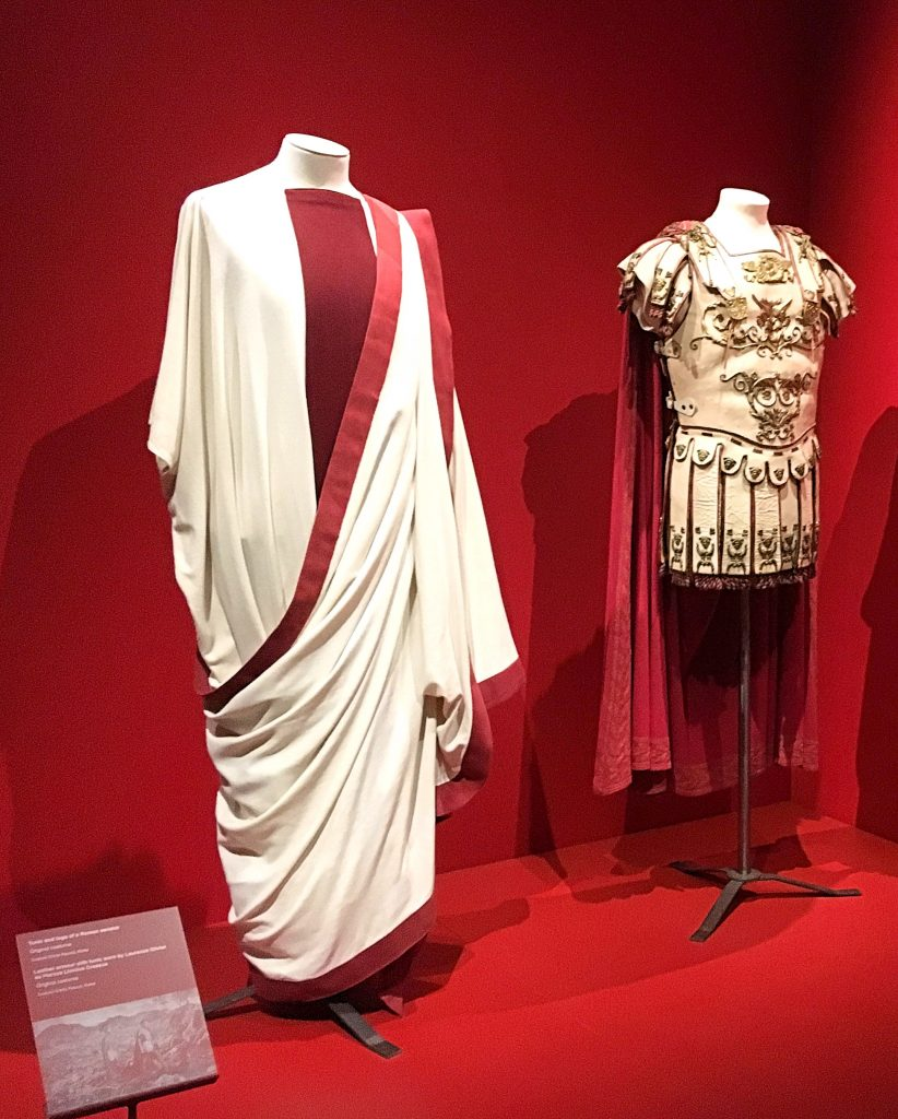 Spartacus Costumes at Stanley Kubrick: The Exhibition