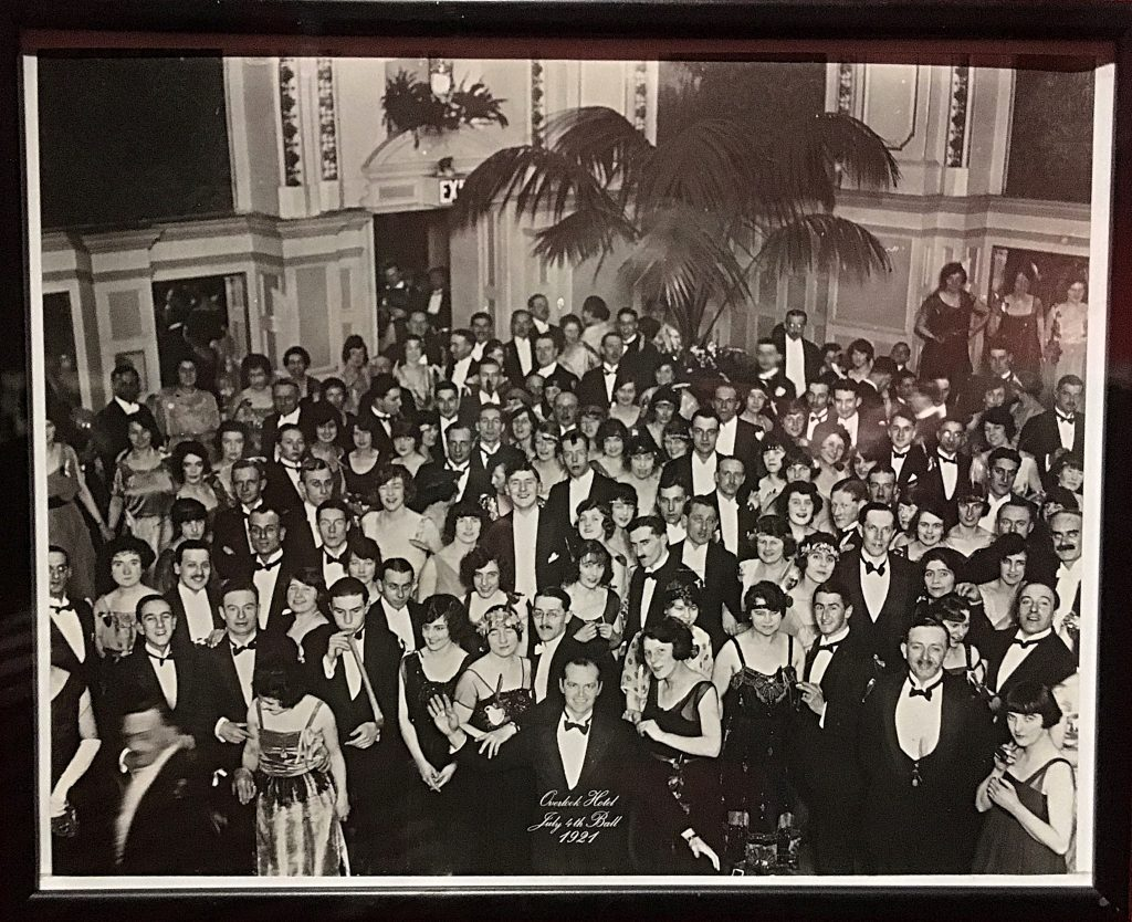 The end photograph from The Shining at Stanley Kubrick: The Exhibition