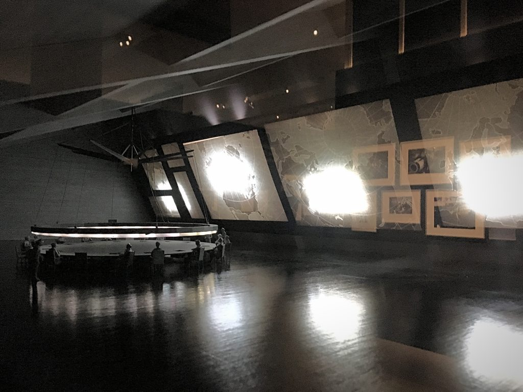 The War Room from Dr Strangelove at Stanley Kubrick:The Exhibition