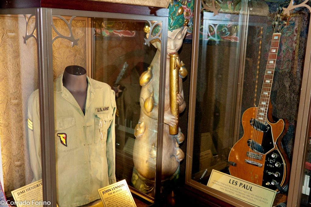 Quirky London Museums: The Hard Rock Cafe London Vault