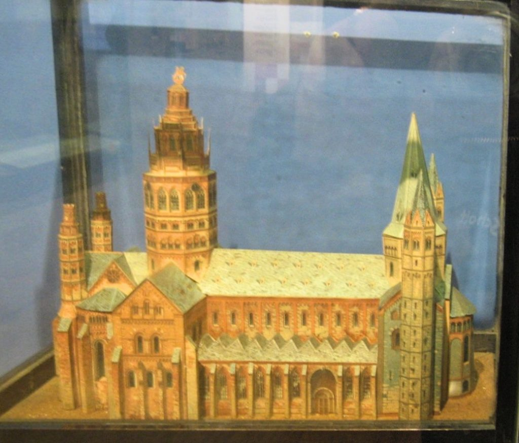 Model of a church made by Joseph Merrick (the Elephant Man), Royal London Hospital Museum