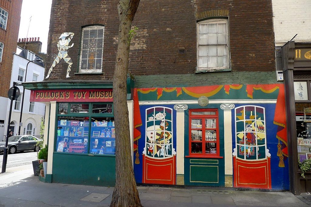 Quirky London Museums: Pollock's Toy Museum