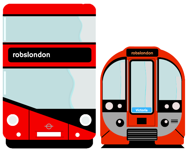 Rob's London: Bus and tube