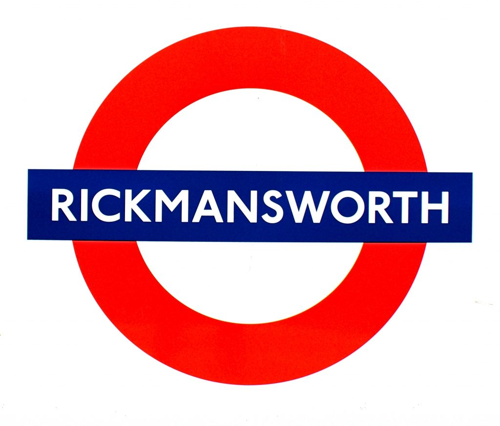 Rickmansworth tube roundel