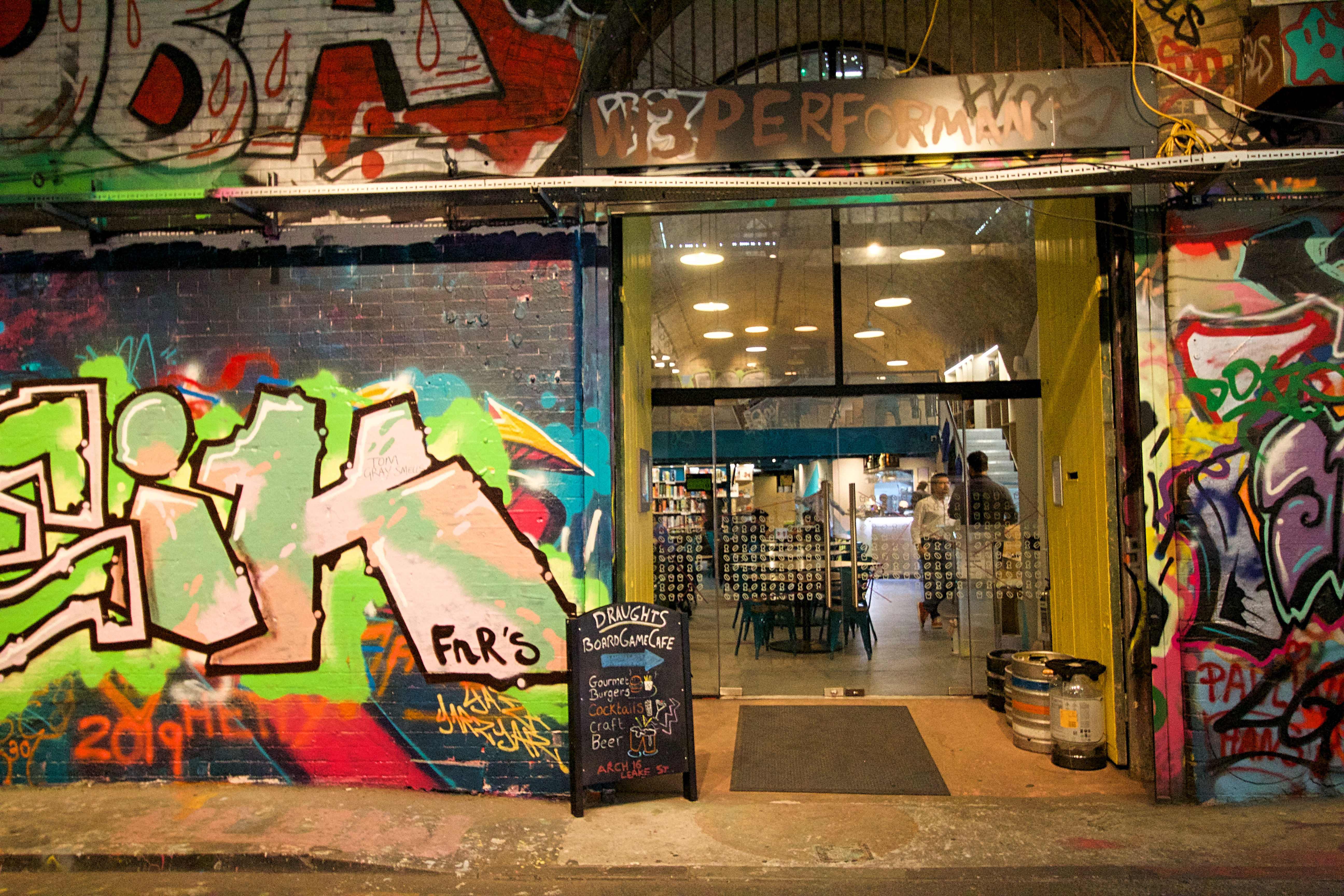The Draughts Cafe, Leake Street
