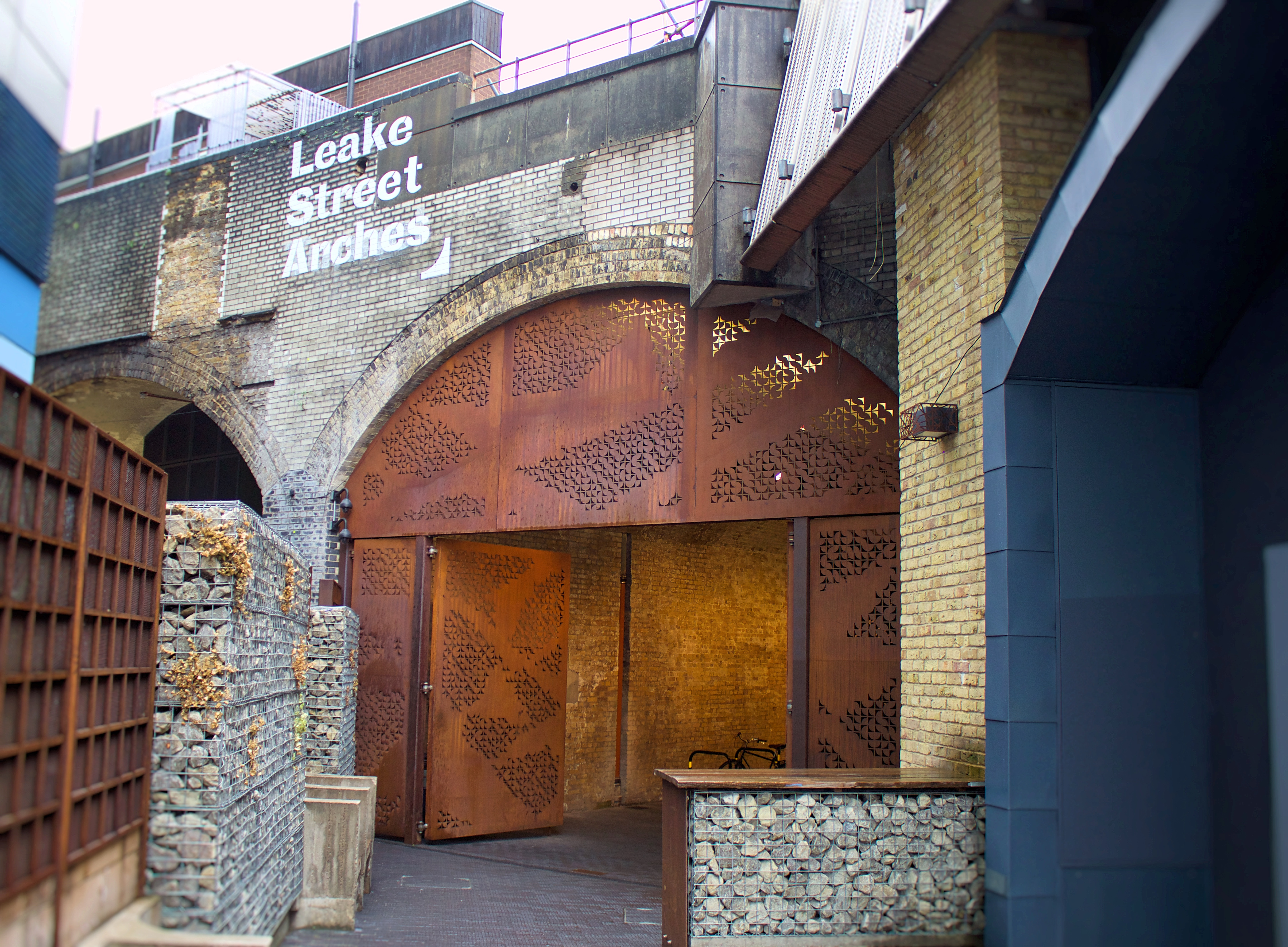 Entrance to the Leake Street Vaults, Westminster Bridge Road