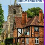 Rickmansworth: Travels on the Tube