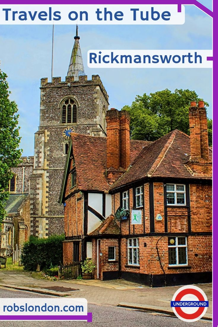 Travels on the Tube: Rickmansworth, robslondon.com