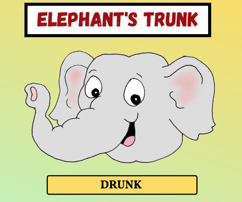 Cockney Rhyming Slang: Elephant's Trunk