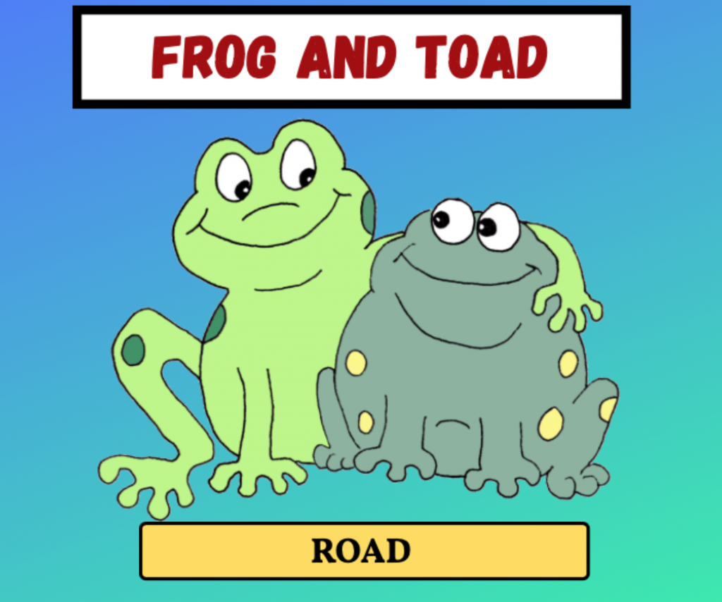 Cockney Rhyming Slang: Frog and Toad