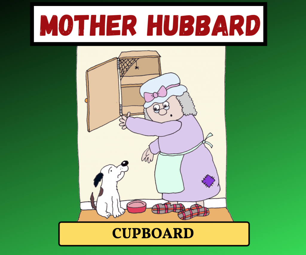 Cockney Rhyming Slang: Mother Hubbard