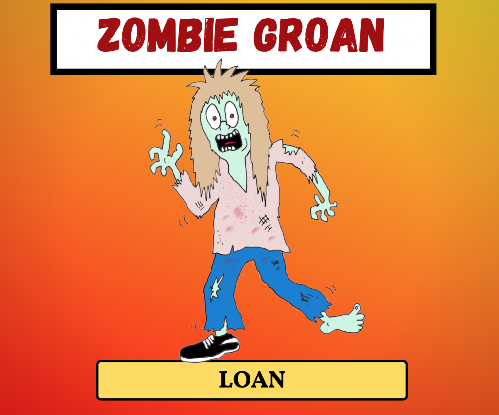 Cockney Rhyming Slang: Zombie Groan