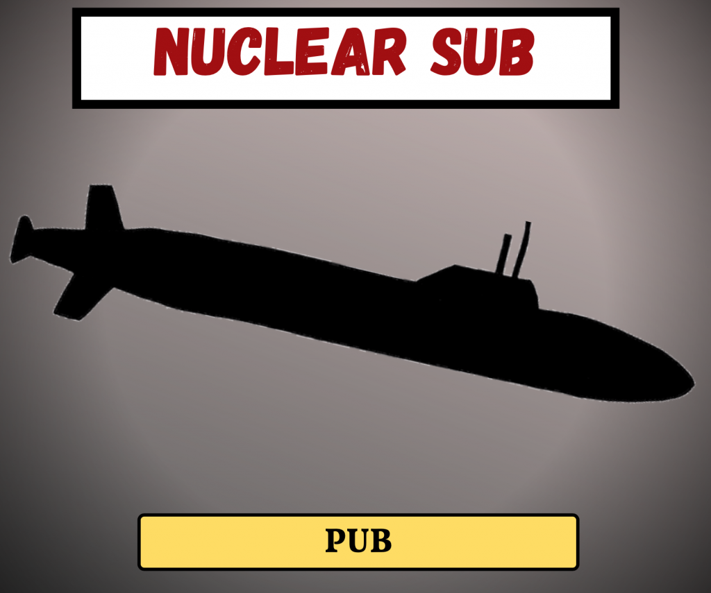 Cockney Rhyming Slang: Nuclear Sub