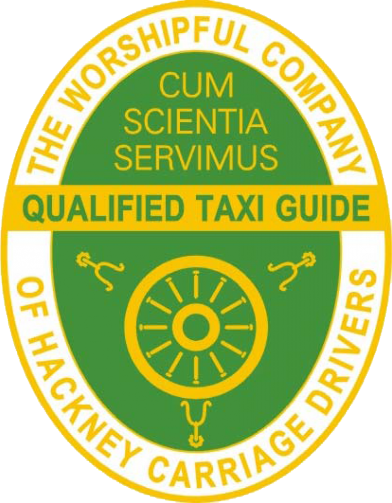 Worshipful Company of Hackney Carriage Drivers Qualified Taxi Guide Badge