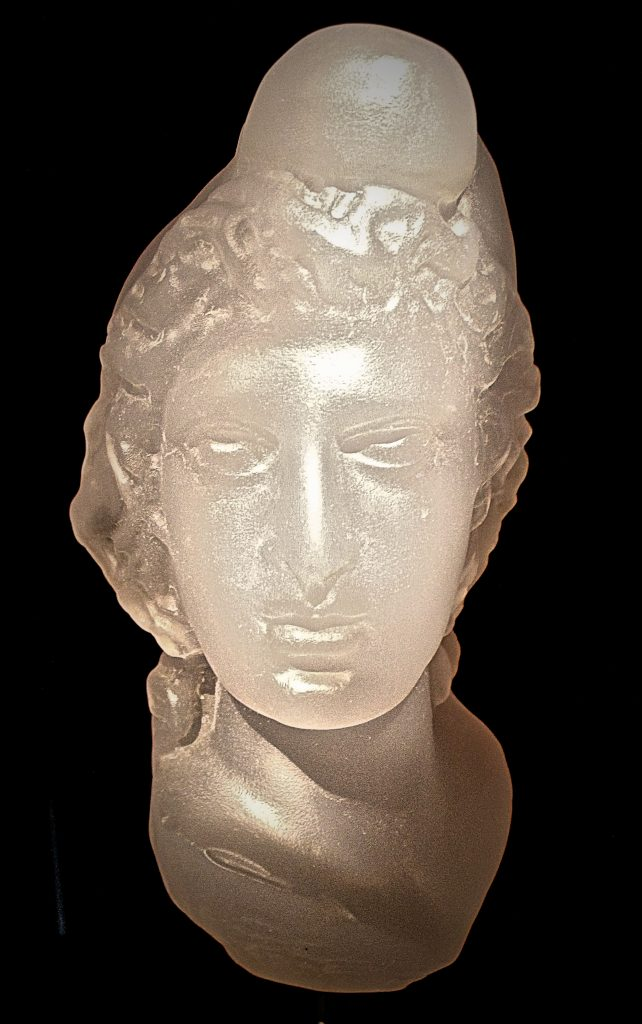 Head of Mithras. Copyright Robert Lordan: robslondon.com