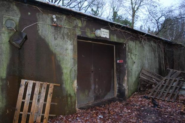 Cold War Bunkers: Bricket Wood Bunker (Copyright BBC)