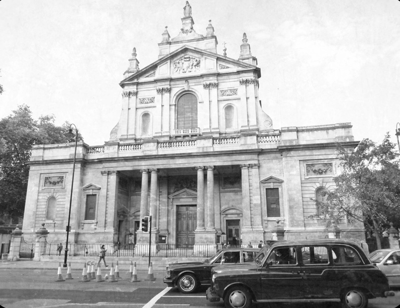 London's Cold War Spy Locations: Brompton Oratory, copyright Robert Lordan