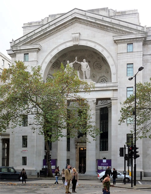 The umbrella assassination: Bush House (Image: Copyright Stephen Richard, via Geography)