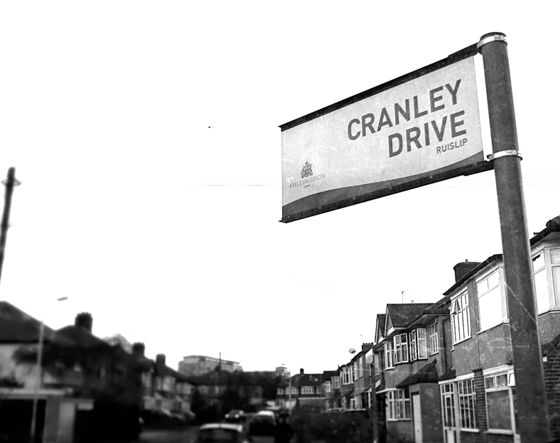 London Cold War Locations: Cranley Drive, Ruislip. Copyright Robert Lordan