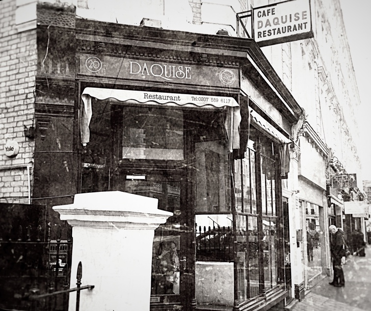 London's Cold War Spy Locations: Daquise Restaurant, South Kensington. Copyright Robert Lordan