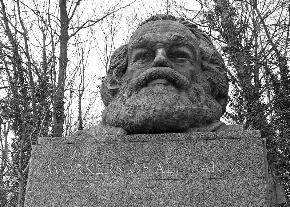 Karl Marx memorial (image: Flickr user Dun.can)