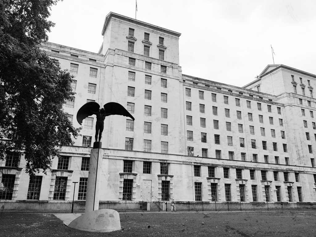 The Ministry of Defence (image: Wikipedia)