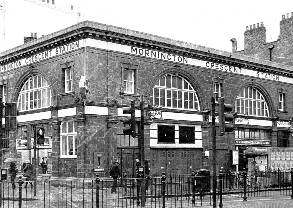 London's Cold War Spy Locations: Mornington Crescent station