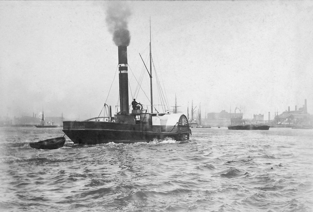 Steam Tug on the Thames