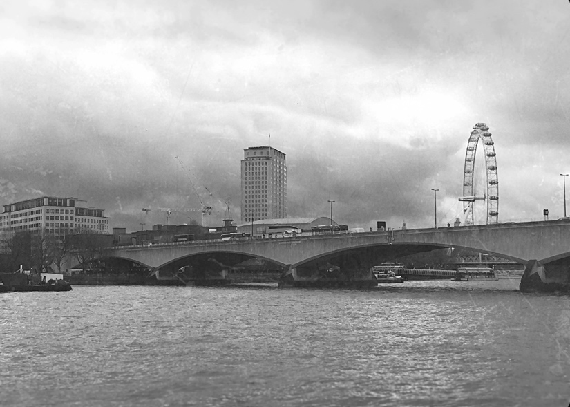 London's Cold War Spy Locations: Waterloo Bridge, copyright Robert Lordan