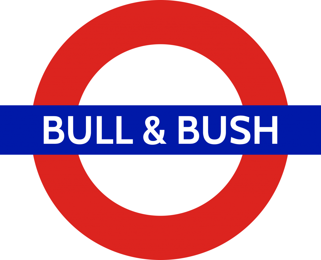 Bull and Bush tube station (robslondon.com)