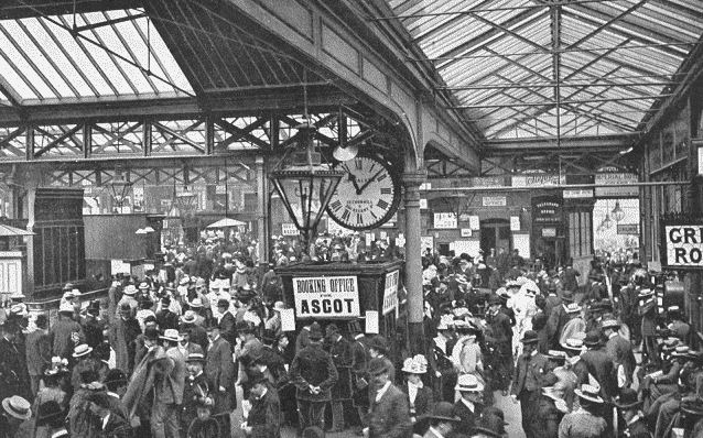 Waterloo Station in the Victorian era, robslondon.com