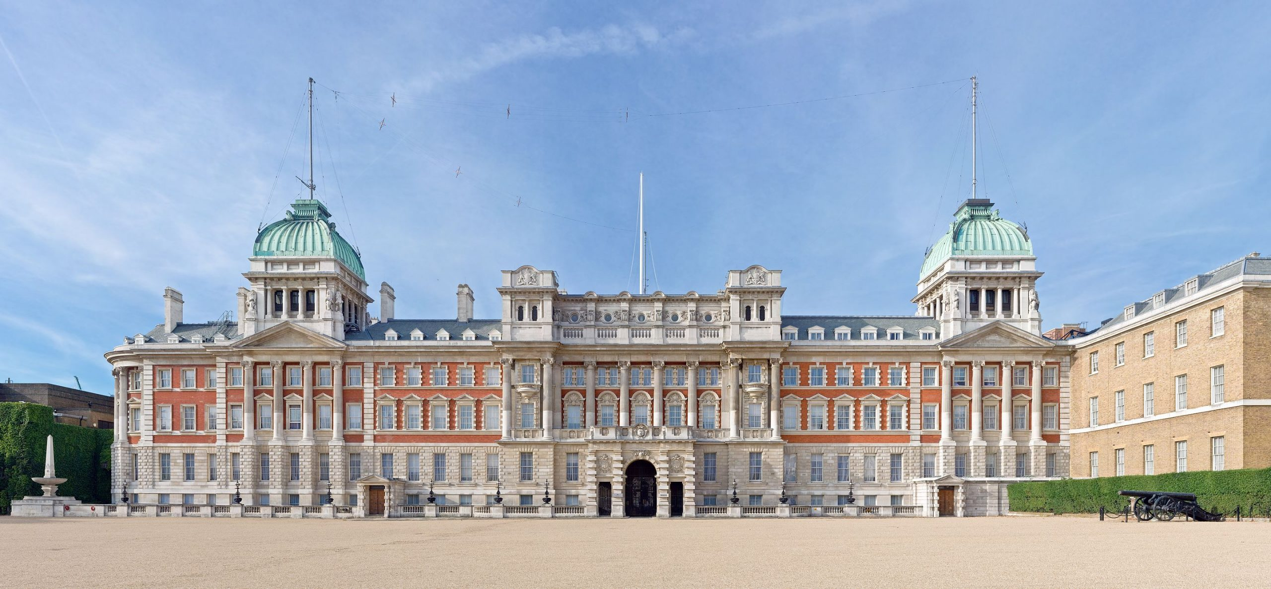 The former Admiralty Building, Horse Guards Parade (image: Wikipedia)