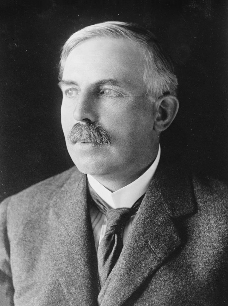 Ernest Rutherford (image: Wikipedia)