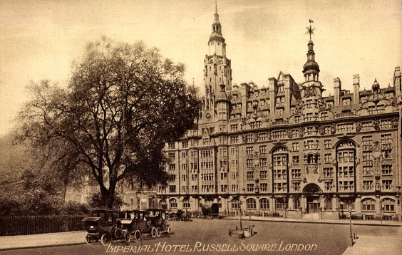 Bloomsbury: The Imperial Hotel, Russell Square