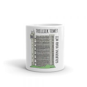 Trelick Tower mug by robslondon.com