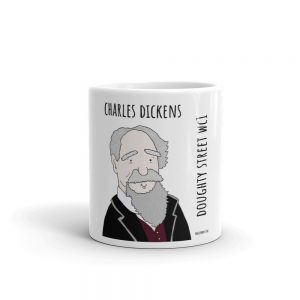 Charles Dickens mug by robslondon.com