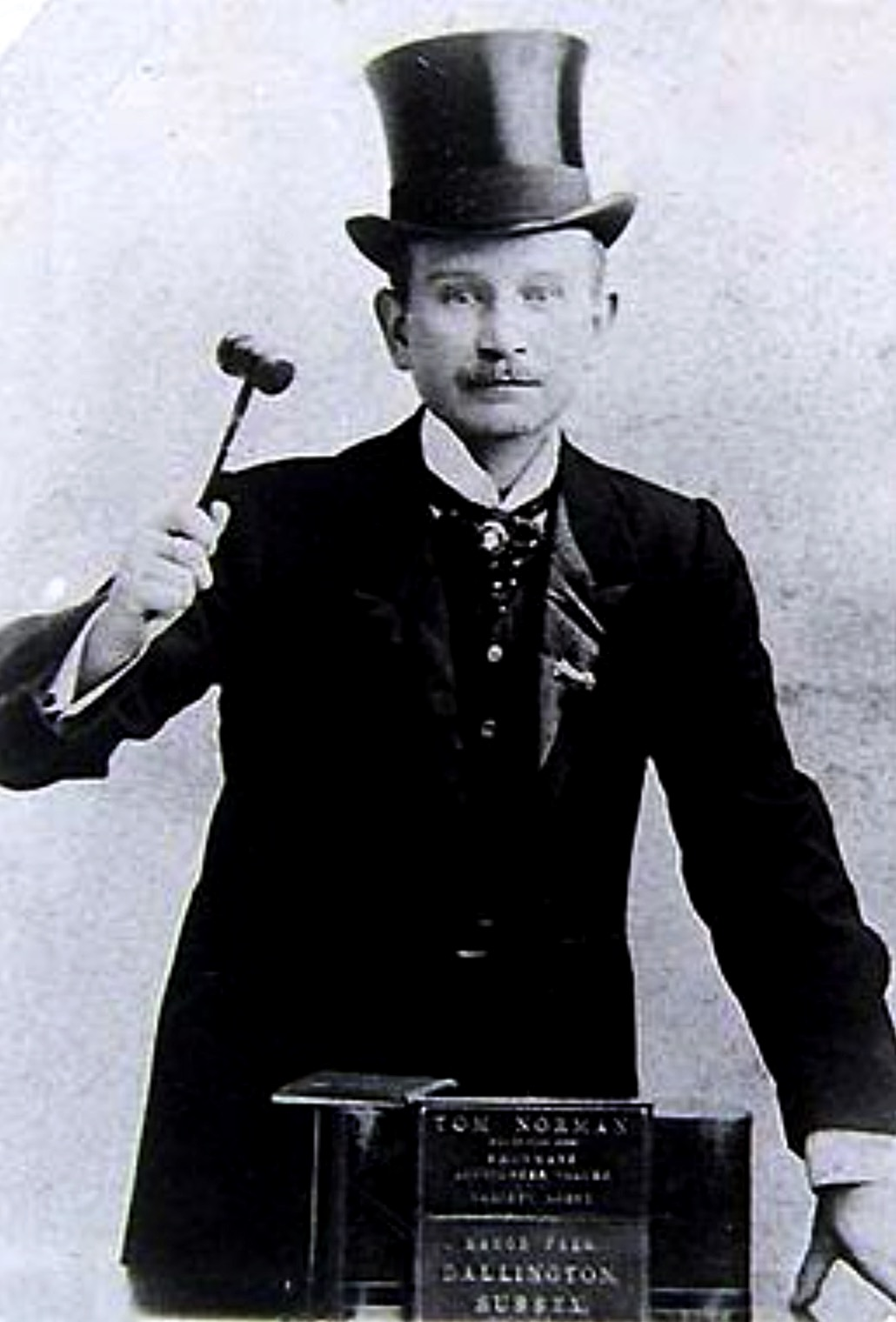 Tom Norman, the Elephant Man's Manager
