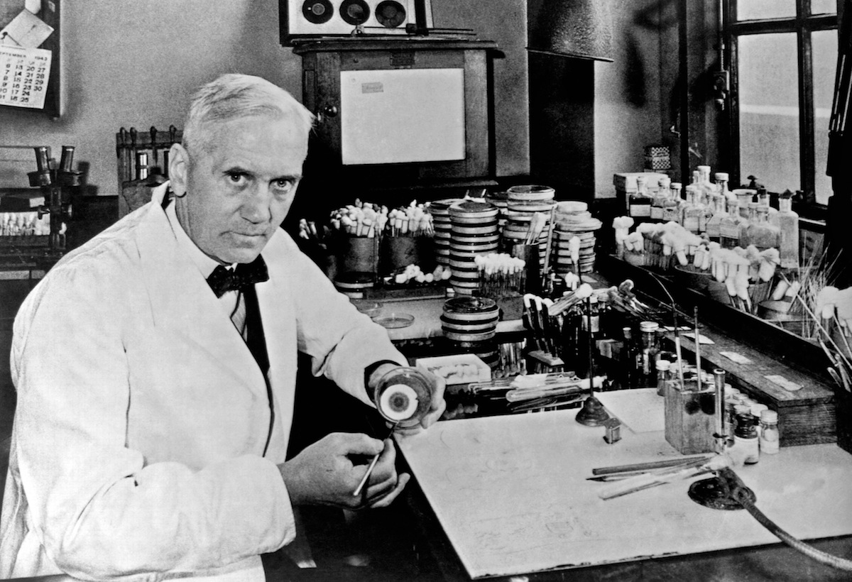 Medical London Lockdown Quiz: Sir Alexander Fleming.