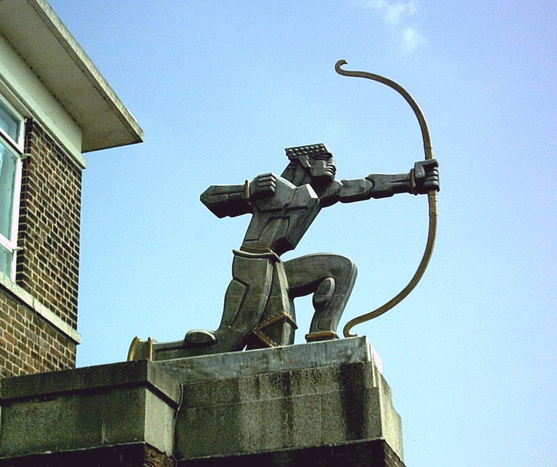 The Archer Statue, East Finchley