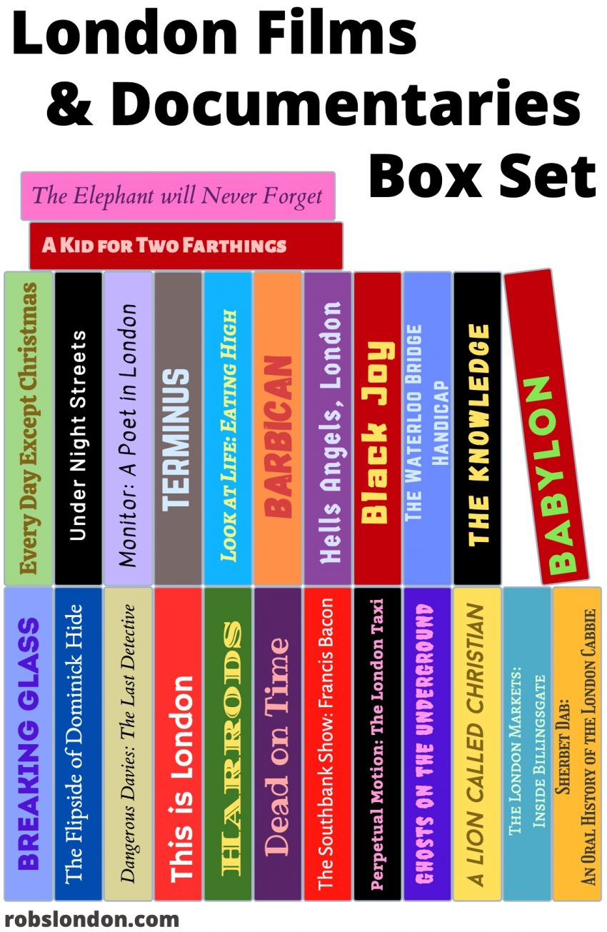 London Films & Documentaries Box Set