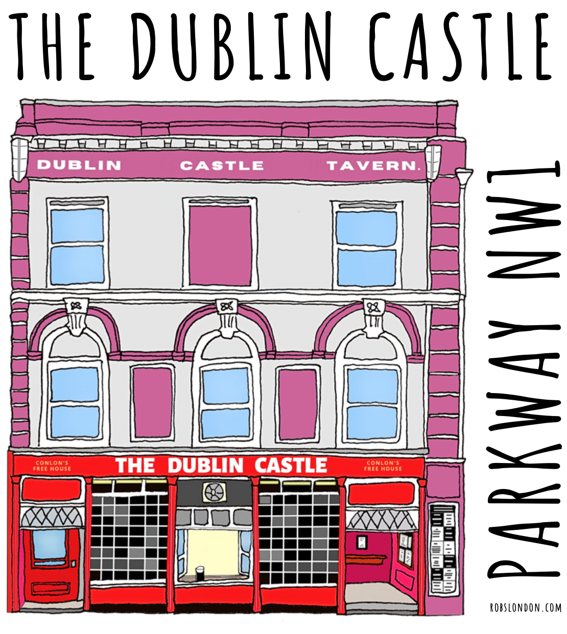 The Dublin Castle mug from robslondon.com