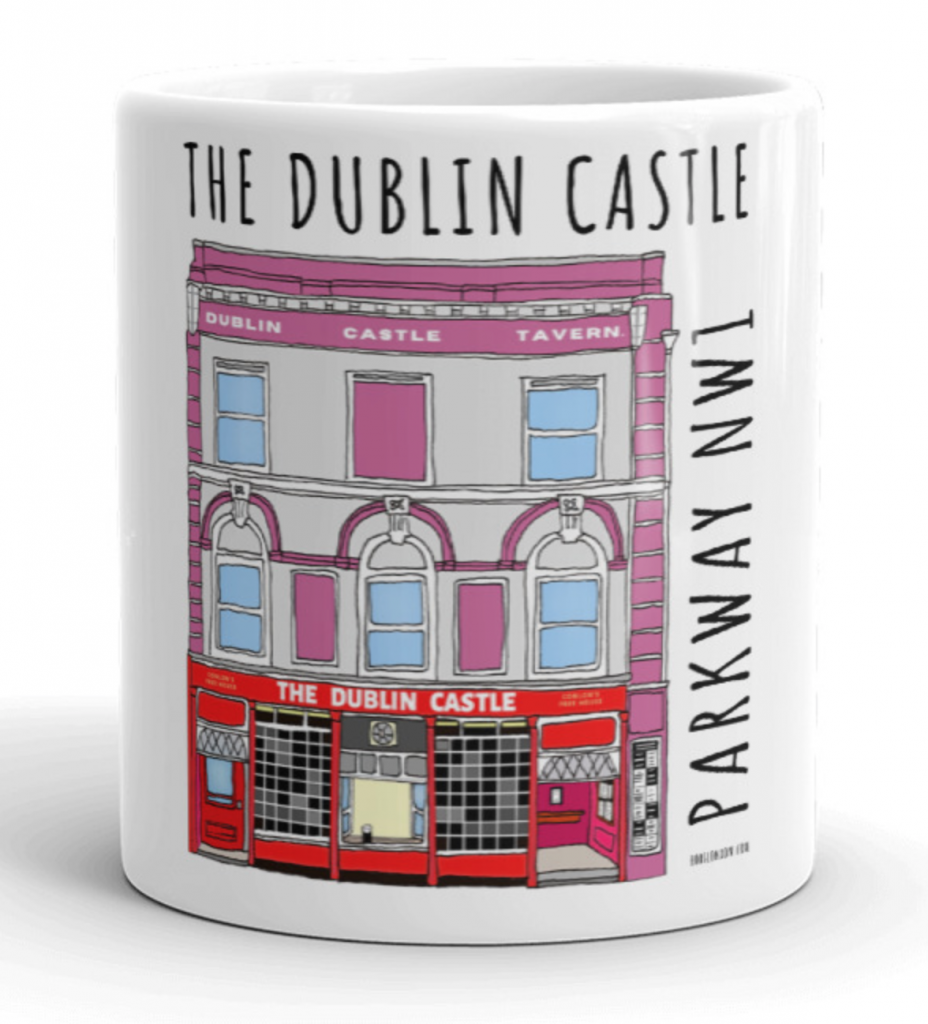 The Dublin Castle Mug