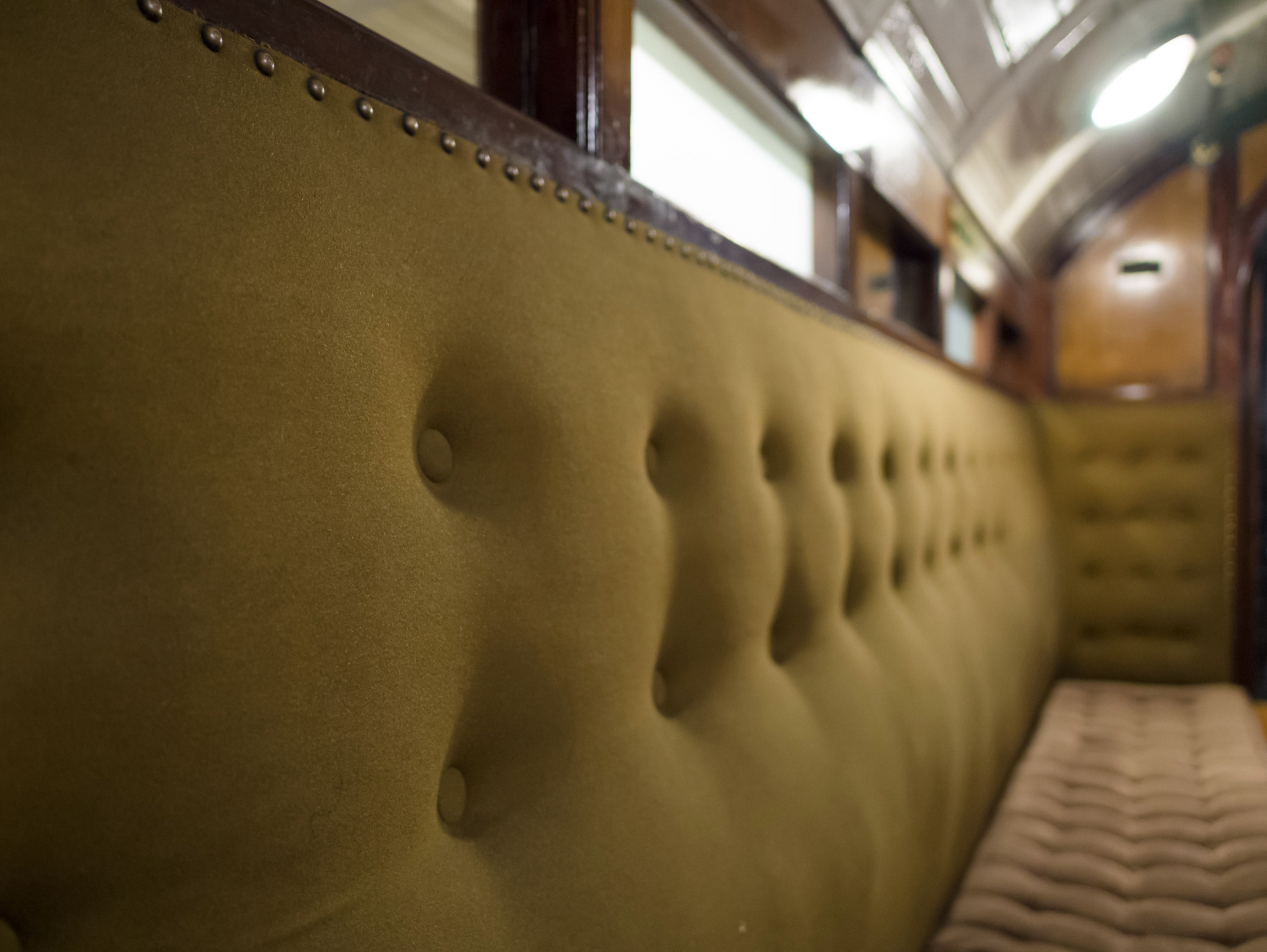 A 'padded cell' car from the City & South London Railway. (Image copyright: James Petts, via Flickr)